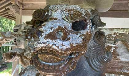 石材、神社仏閣洗浄