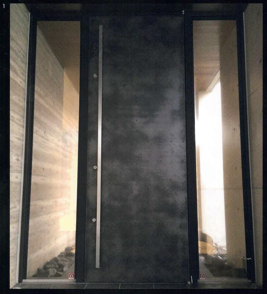 VeroMetal®Collection Door series 住宅の顔、金属ドア
