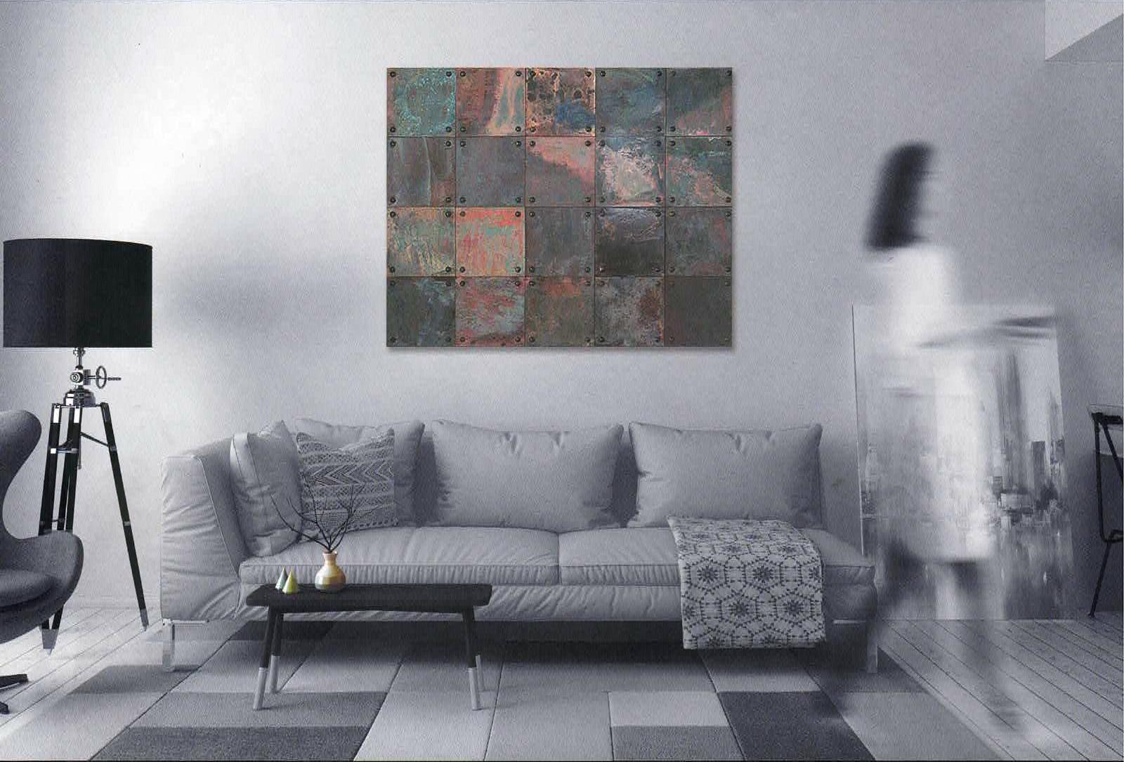 VeroMetal®Collection Tile series 唯一無二の金属タイル