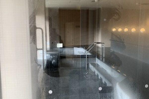 露天風呂施設(鏡・研磨コーティング)